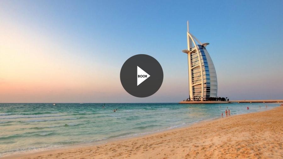 Beach Hotel Dubai Water HD Wallpaper 1920x1080